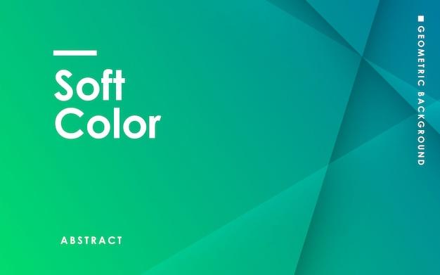 Zachte groene gradiënt abstracte achtergrond