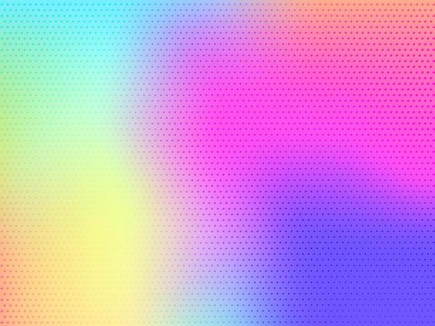 Zachte kleur achtergrond met stippen. modern abstract wazig vectorontwerp met verloopnet