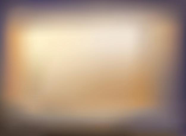 Zachte kleur van gouden vage violette gradiëntachtergrond.