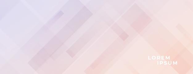 Zachte kleurenachtergrond met diagonaal lijneneffect ontwerp