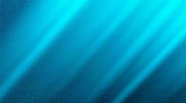 Zachte lichtblauwe circuittechnologieachtergrond