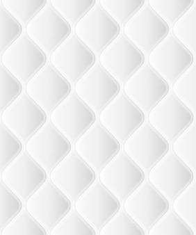 Zachte naadloze rattern met golven in het wit. close-up bekijken. en omvat ook