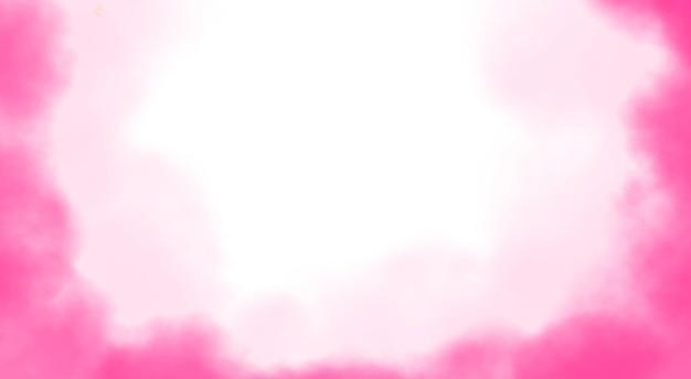 Zachte roze aquarel achtergrond