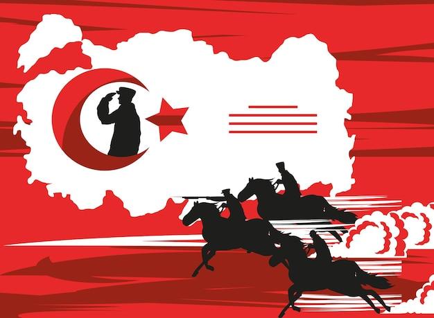 Zafer bayrami overwinningskaart