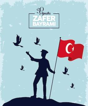 Zafer bayrami viering