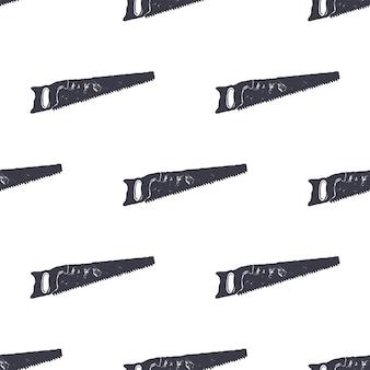 Zag naadloos patroon. monochroom retro-ontwerp. vintage hand getrokken wallpaper achtergrond. hipster unieke stijl. voorraad vector geïsoleerd op een witte achtergrond.