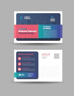 Zakelijk briefkaartontwerp   direct mail eddm-ontwerp