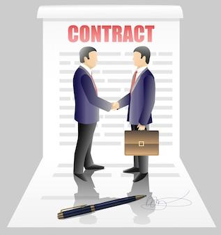 Zakelijk contract