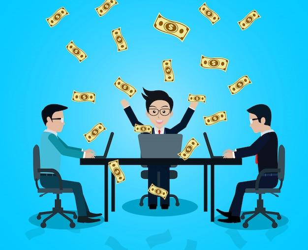 Zakelijk en financieel succes