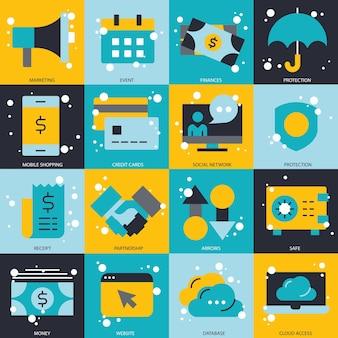 Zakelijk en technologisch concept