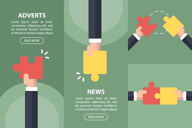 Zakelijk nieuws, internetadvertenties.