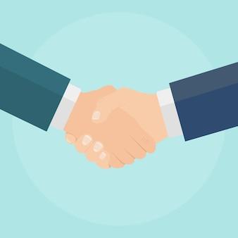 Zakelijk partnerschap concept