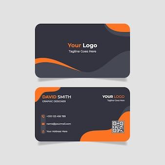 Zakelijk visitekaartje ontwerp