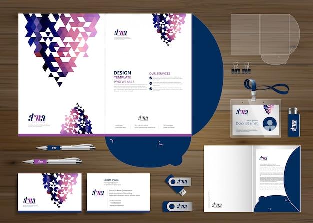 Zakelijk zakelijk map technologie briefpapier bedrijf, presentatie,