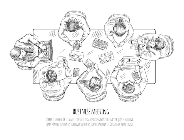 Zakelijke bijeenkomst