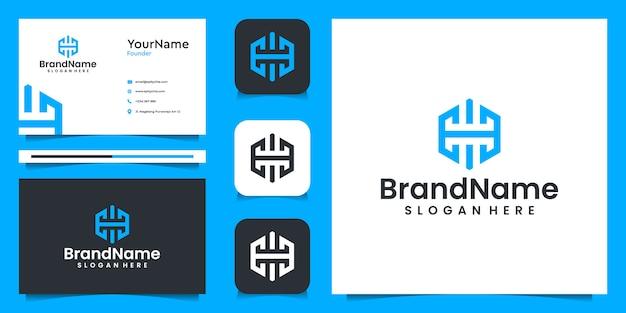 Zakelijke briefpapier set met logo