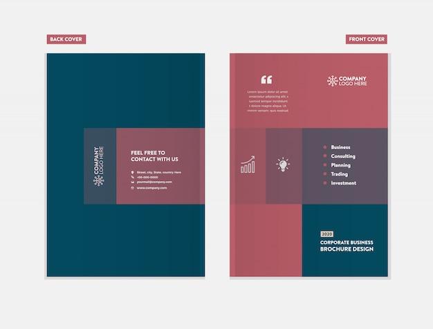 Zakelijke brochure cover design