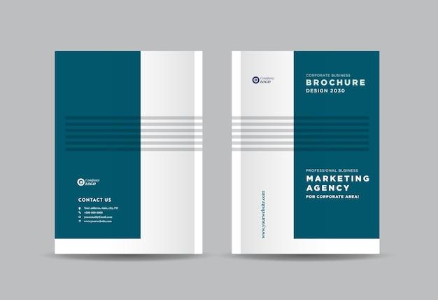 Zakelijke brochure en boekje omslagontwerp of jaarverslag en bedrijfscatalogus omslagontwerp