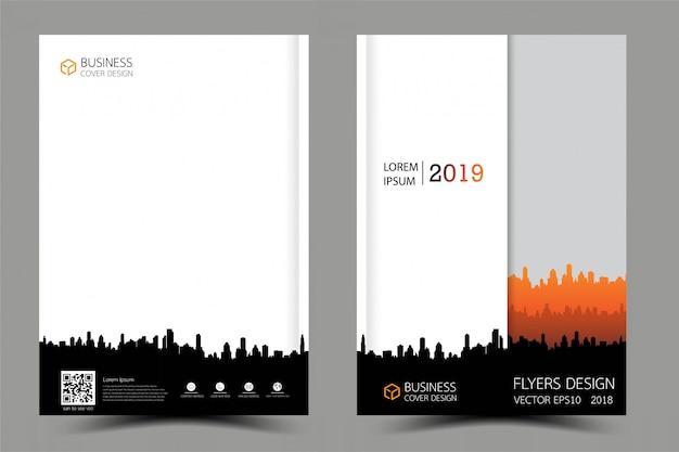 Zakelijke brochure flyer modern ontwerp.