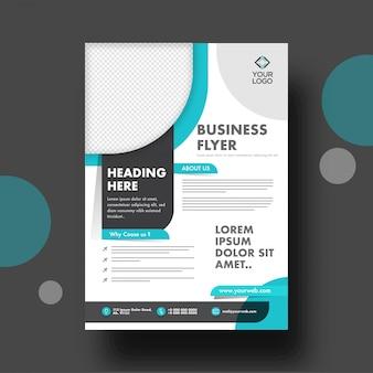 Zakelijke brochure of flyer-sjabloon