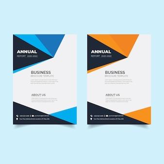 Zakelijke brochure sjablonen