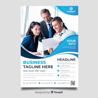 Zakelijke brochure sjabloon