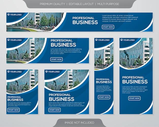 Zakelijke brochure sjabloonontwerp