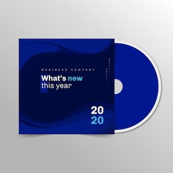 Zakelijke cd-omslagsjabloon