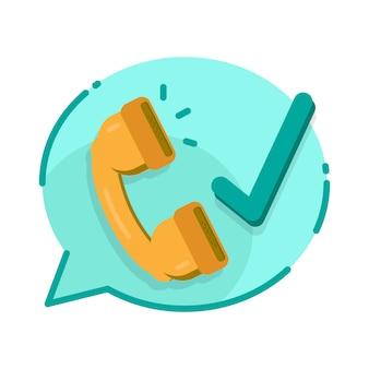 Zakelijke communicatie. call center ondersteuning