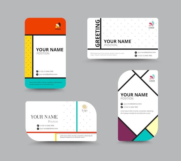 Zakelijke contactkaart