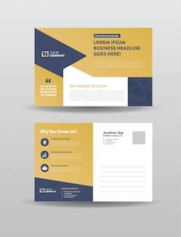Zakelijke e-mailprentbriefkaar