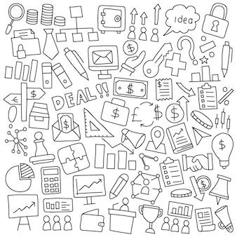 Zakelijke en financiële doodle