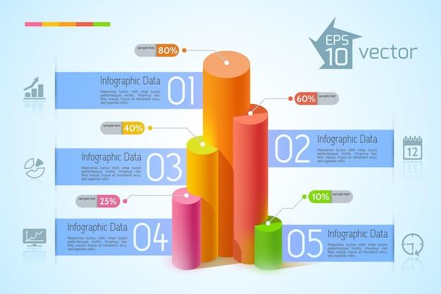 Zakelijke infographic