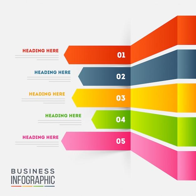 Zakelijke infographic.