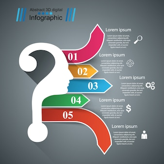 Zakelijke infographics.