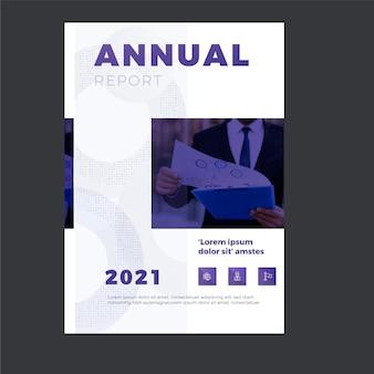 Zakelijke jaarverslagsjabloon