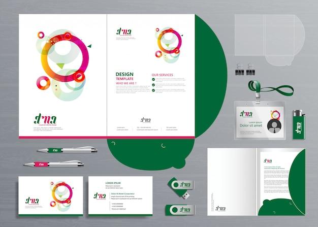 Zakelijke map folder technology stationery company