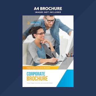 Zakelijke multipurpose a4 flyer leaflet vector sjabloon