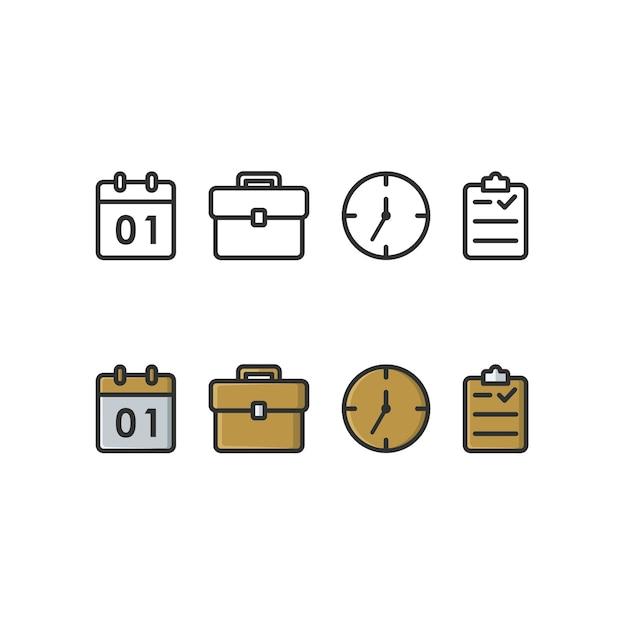 Zakelijke pictogram