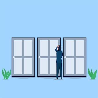 Zakelijke platte vector concept illustratie.