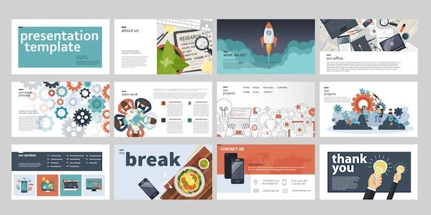 Zakelijke presentatiesjablonen