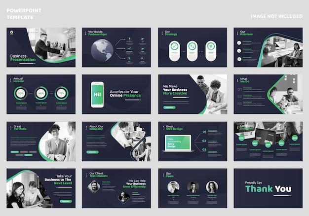 Zakelijke presentatiesjabloon