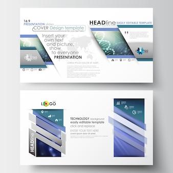 Zakelijke sjablonen in hd-formaat voor presentatiedia's