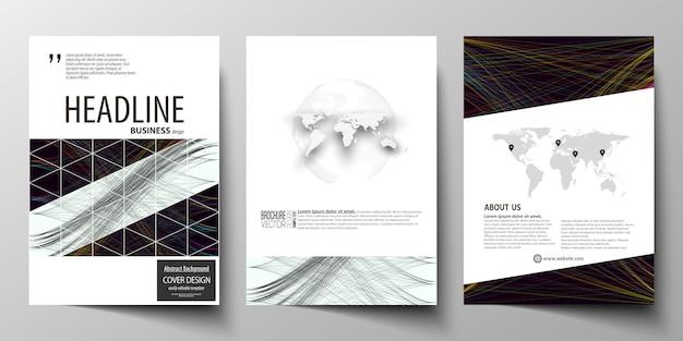 Zakelijke sjablonen voor brochure