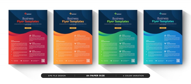Zakelijke sjablonen voor zakelijke folders
