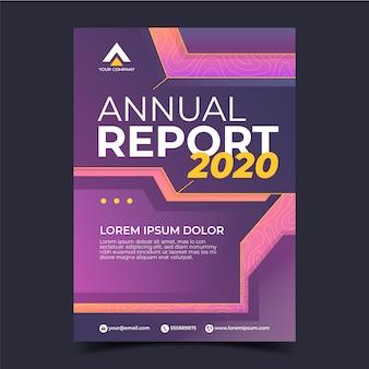 Zakelijke sjabloon jaarverslag