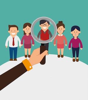 Zakelijke teamwerk afbeelding