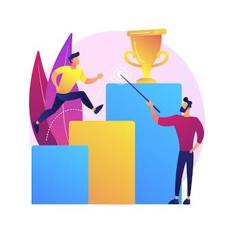 Zakelijke visie, voorspelling en prognoses. monitoring van carrièrekansen. baan, perspectief zoeken, strategieplanning. leiderschap en motivatie.