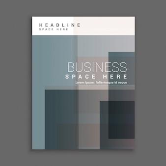 Zakelijke voorblad template design