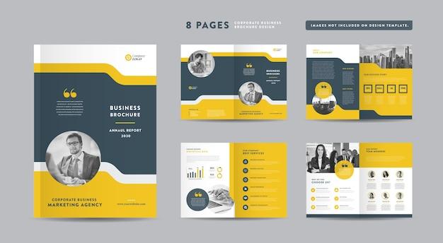 Zakelijke zakelijke brochure